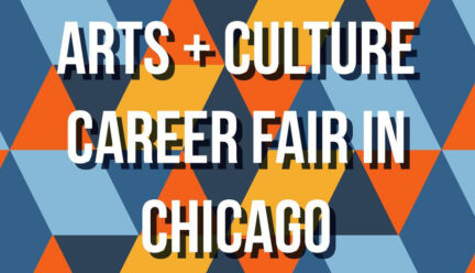 Arts and Culture Career Fair in Chicago graphic