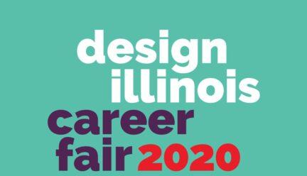 Design Illinois Career Fair 2020 graphic