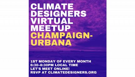 Climate Designers Virtual Meetup graphic
