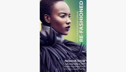 Re-fashioned Fashion Show poster