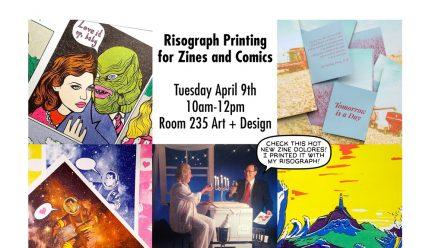 Risograph workshop poster