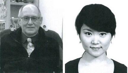 Head shots of Craig Vogel and Cecilia Wang