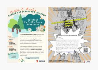 Nash Summer Art School posters