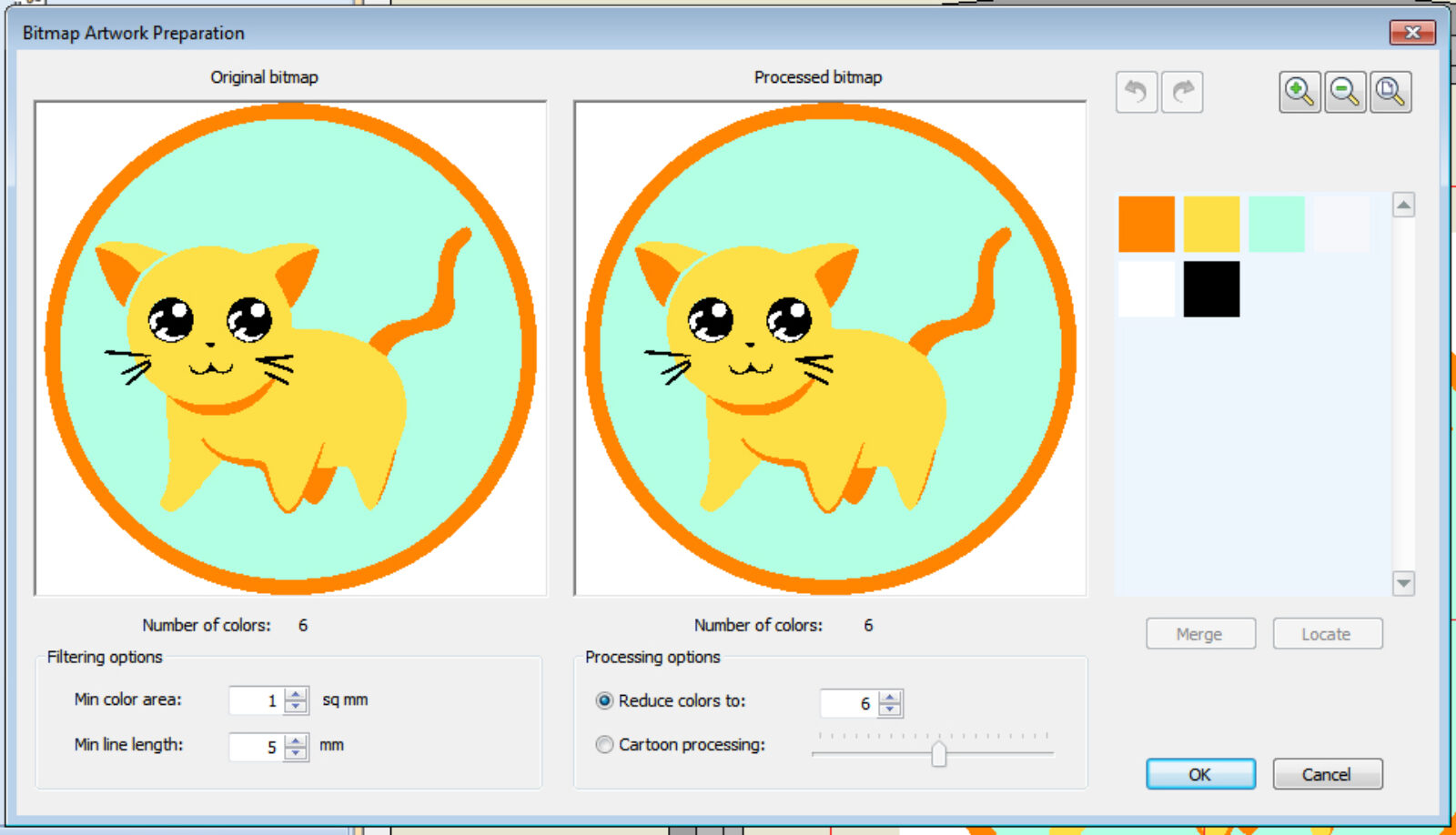 Bitmap Artwork Preparation
