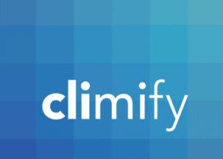 a logo of climify