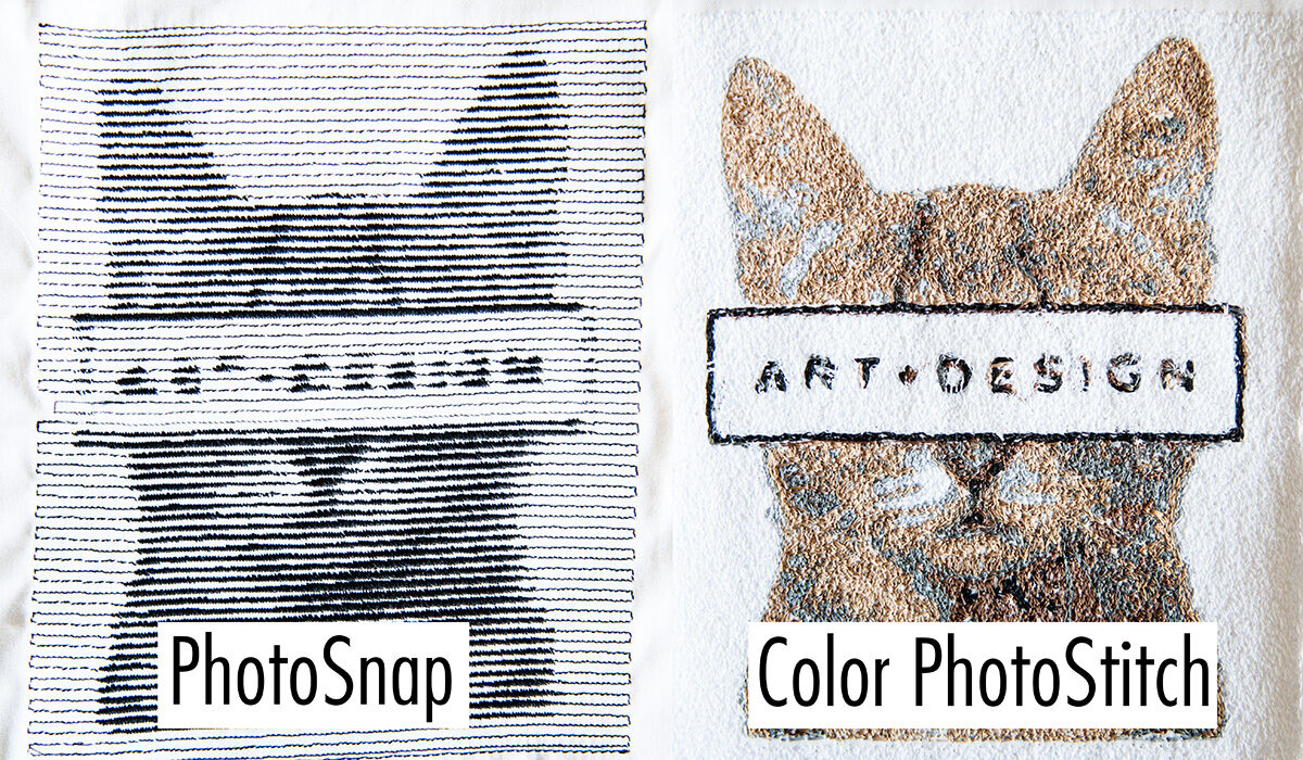PhotoSnap and Color PhotoStitch Examples