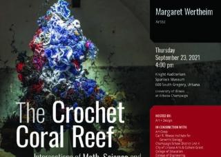 Flyer for Margaret Wertheim lecture