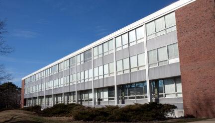 Art & Design Building Peabody Drive side