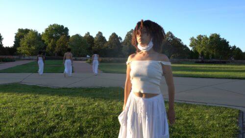 Angel Anderson in C. Kemal Nance's short film, Bootstraps