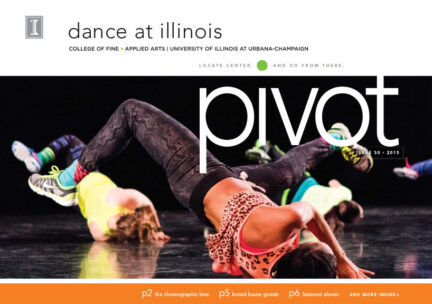 Cover-Dancers wearing vibrant colors amid flip from back to front